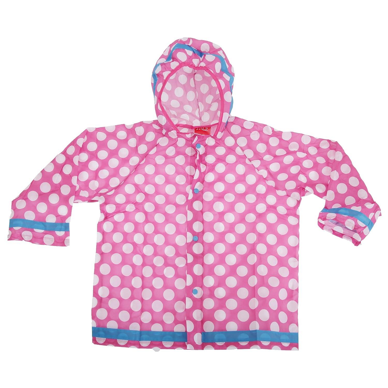 Universal Textiles Childrens/Kids Polka Dot Design Hooded Showerproof Raincoat UTF415_2
