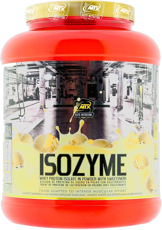 MTX nutrition ISOZyme [907 Gramos] 2 Lbs. Vainilla-Pineapple – Aislado de Suero Premium Ultra-Microfiltrado.