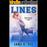 Lines: A Good Girl Bad Boy Sports Romance (Greyford High Book 1)