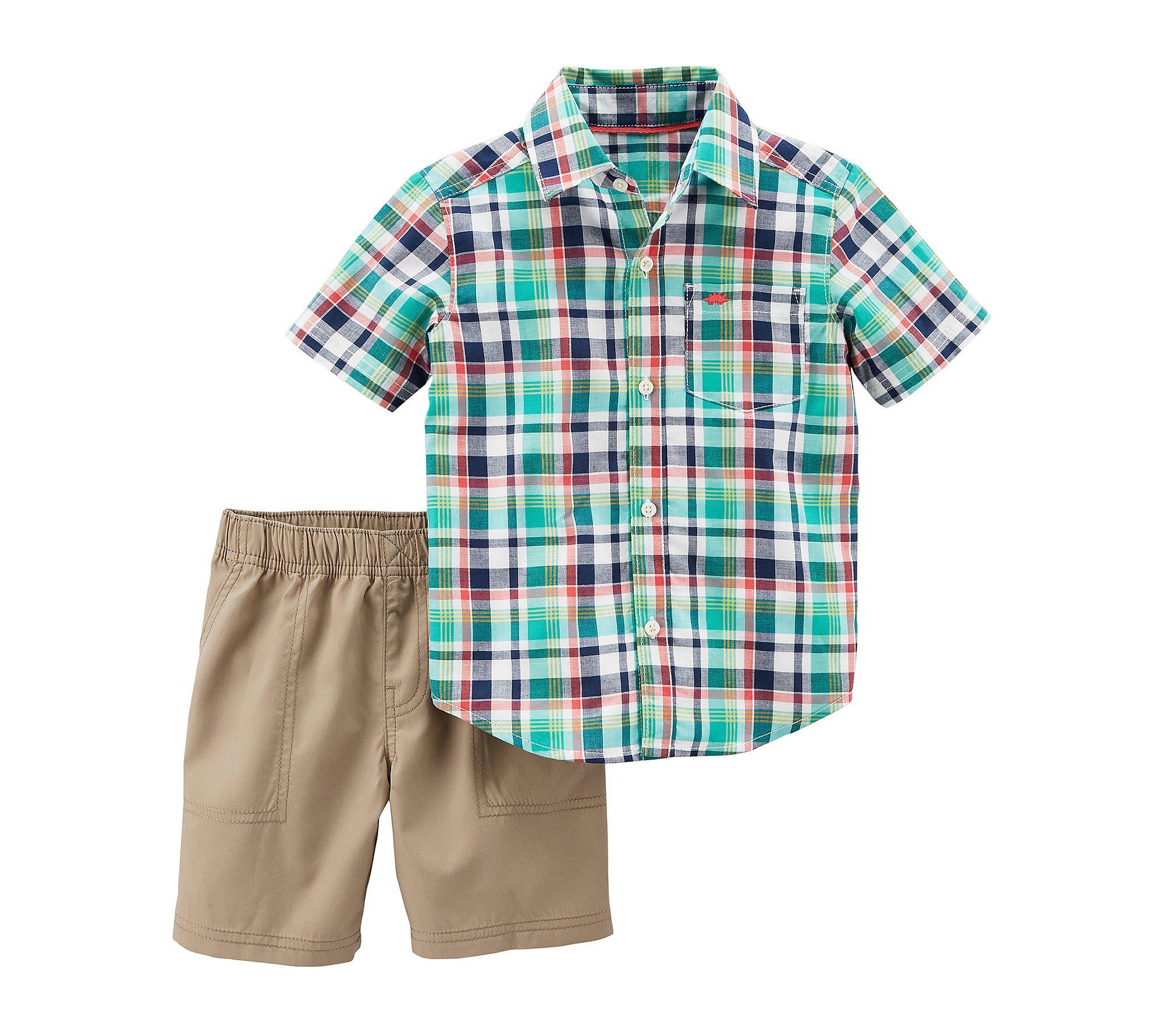 Carters Baby Boys 2 Pc Playwear Sets 249g396