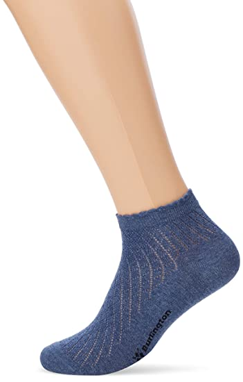 Burlington Montrose, Calcetines para Mujer, Azul (Light Denim 6660), 36/41 (Talla del Fabricante: 36-41): Amazon.es: Ropa y accesorios