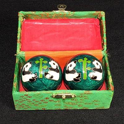 Chinois Traditionnel Ballon De Santé Cloisonné Décompression Handball 45mm,I