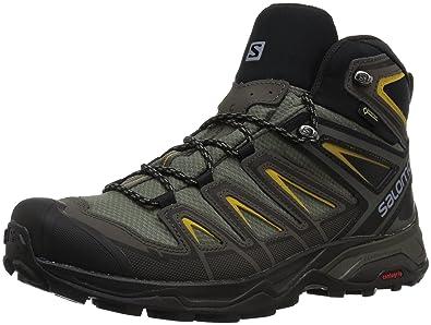 7af0d9195111 SALOMON X ULTRA 3 MID GTX® Ca Erkek Spor Ayakkabılar  Amazon.com.tr