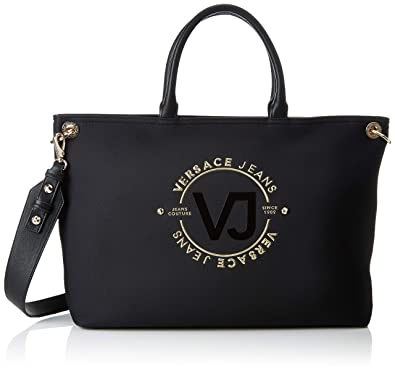 91b74b4fc56 Versace Jeans Couture Bag, Women's, Black (899+899), 13x30x47 cm (W ...