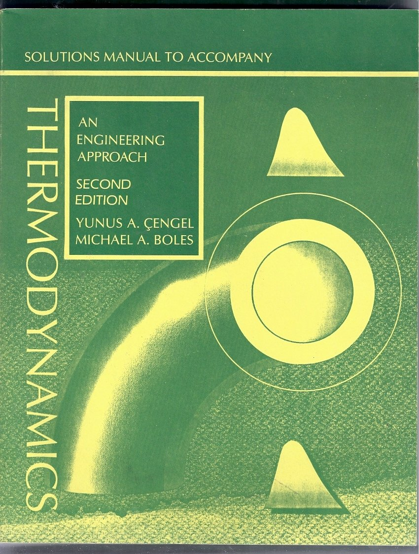 Buy thermodynamics solutions manual an engineering approach book buy thermodynamics solutions manual an engineering approach book online at low prices in india thermodynamics solutions manual an engineering approach fandeluxe Gallery