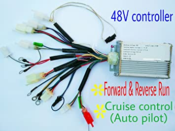 48v 500w electric bike motor scooter speed controller