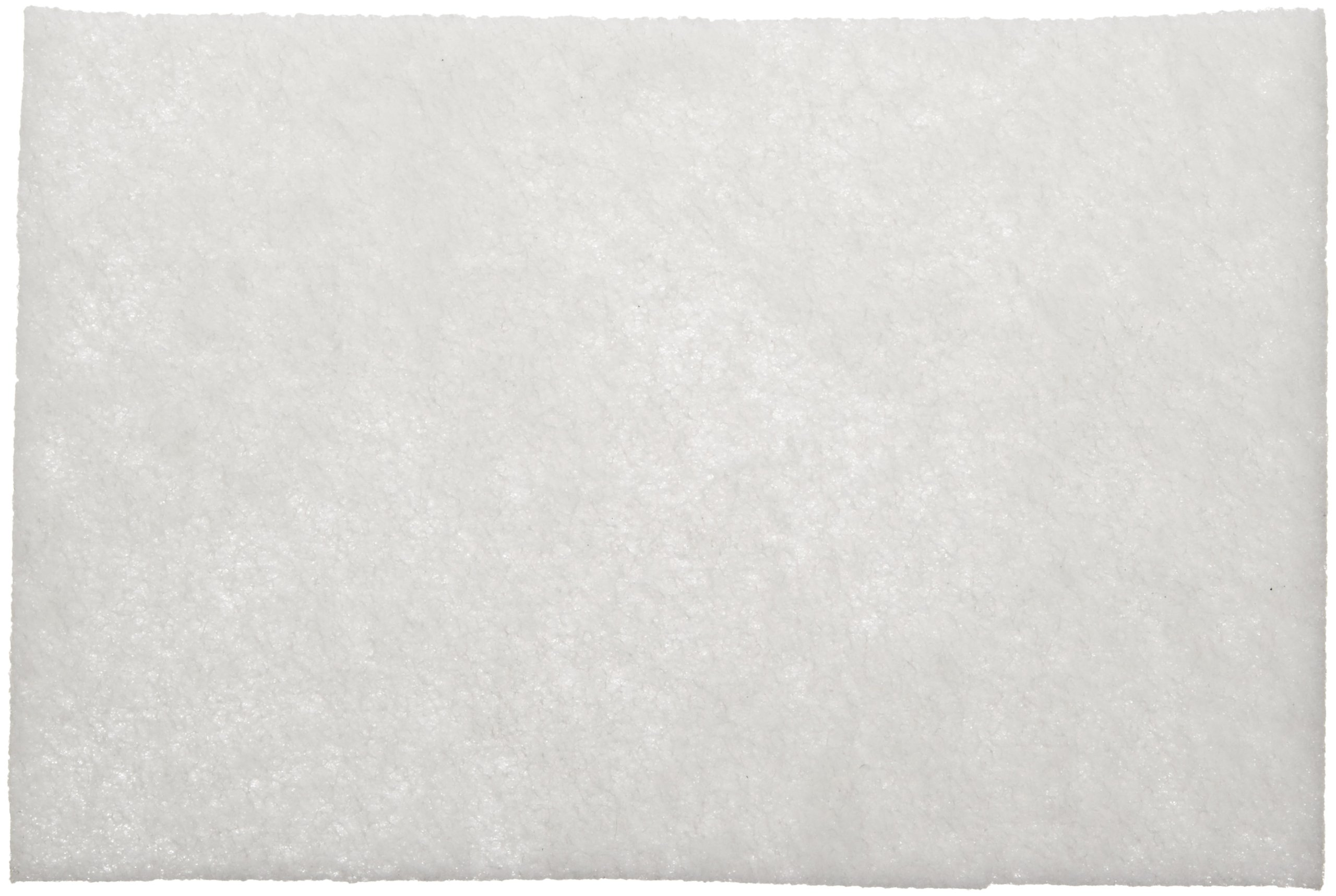 Scotch-Brite(TM) Light Cleansing Hand Pad 07445, Aluminum Silicate, 9'' Length x 6'' Width, White  (Pack of 20)