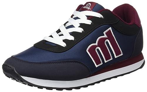 87691e5a MTNG Funner Chico, Zapatillas de Deporte para Hombre, Azul (RASPE  Azulnylona Azulraspe Negronapo Burdeos), 40 EU: Amazon.es: Zapatos y  complementos