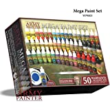 The Army Painter: Miniature Painting Kit, Warpaints Mega Paint Set 3