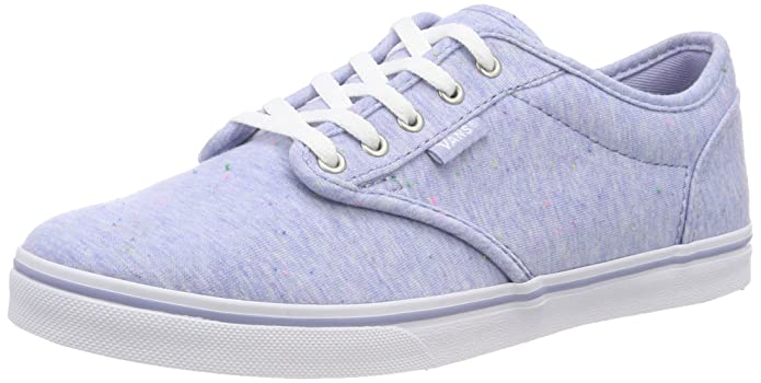 b4ef7230112461 Vans Women s Atwood Low Trainers Blue ((Speckle) Blue R6e) 5 UK  Amazon.in   Shoes   Handbags
