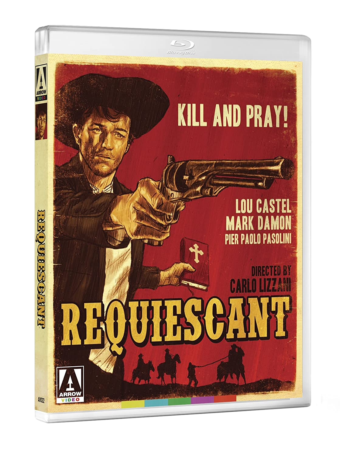 Amazon Com Requiescant 2 Disc Special Edition Blu Ray Dvd