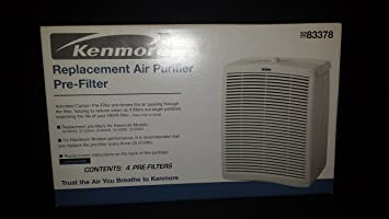 kenmore air purifier. 83378 sears/kenmore air cleaner replacement filter kenmore purifier