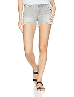Silver Jeans Co Womens High-Rise Mom Shorts L28510SBA297
