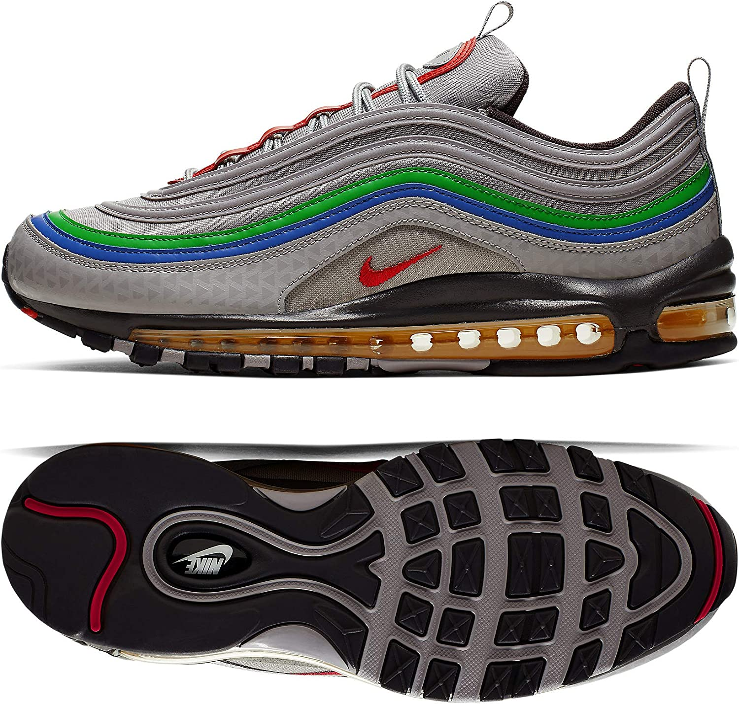 Amazon Com Nike Men S Air Max 97 Casual Shoes 9 5 Atmosphere