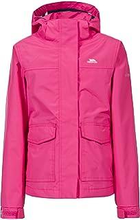 d11f67ba9d0 Trespass Kids Nella Waterproof Rain Outdoor Jacket with Hood  Amazon ...