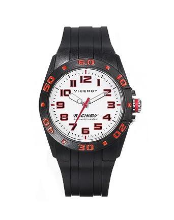 Viceroy Reloj Analogico para Chicos de Cuarzo con Correa en Silicona 432355-04: Amazon.es: Relojes
