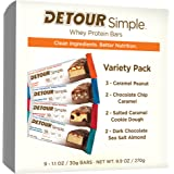 Detour Simple Protein Bar Variety Pack, 9 Count