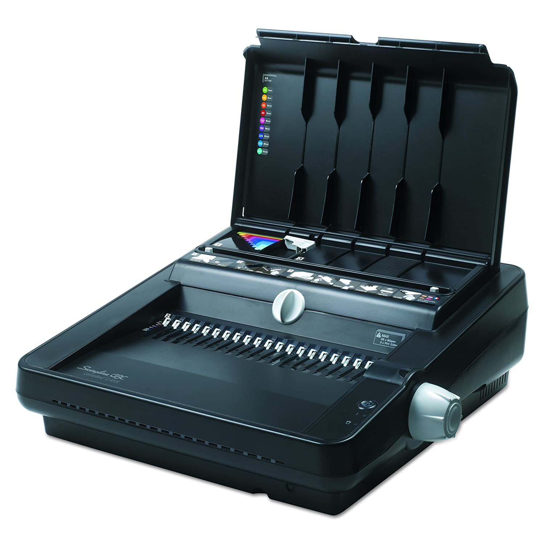 GBC CombBind C12 Binding Machine, 12 Sheet Punch Capacity, 225 Sheet Binding Capacity, Black (3381670617) 7706171