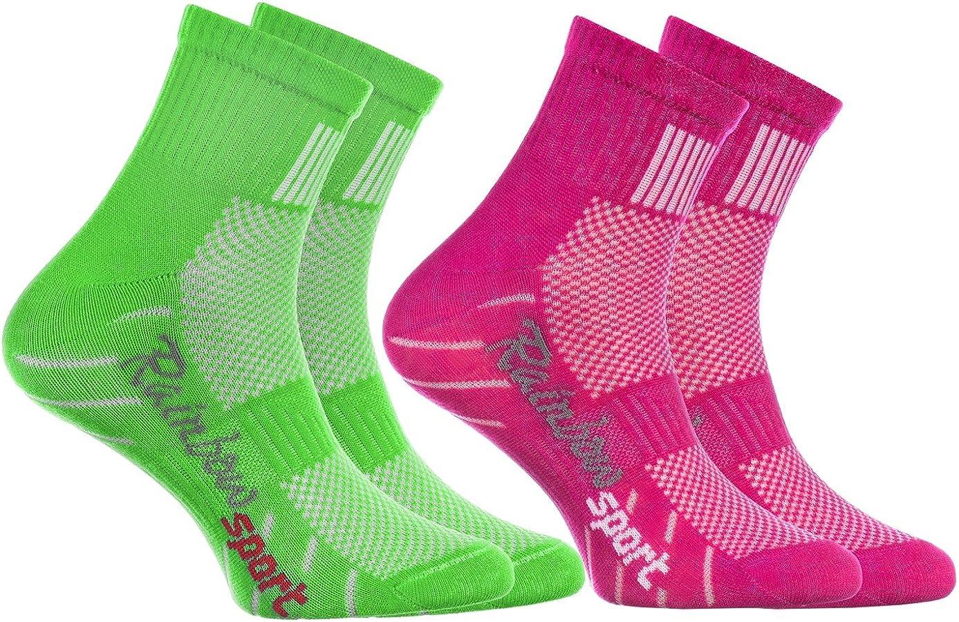 Boys Girls Colourful Cotton Sneaker Sport Socks Rainbow Socks