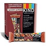 Kind Bar - ナット&スパイス バー ボックス ダーク チョコレート シナモン ピーカン - 1バー