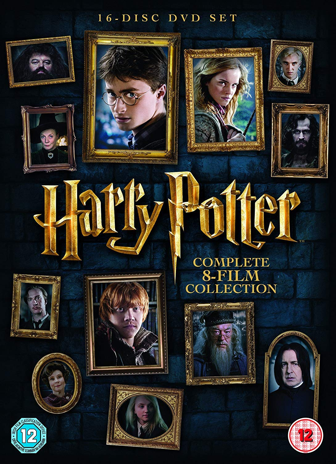 Harry Potter The Complete 8 Movies Collection Year 1 To 7 Part 1 2 All Parts 1 To 8 Dvd Digital Download Uv 16 Disc Box Set Slipcase Packaging