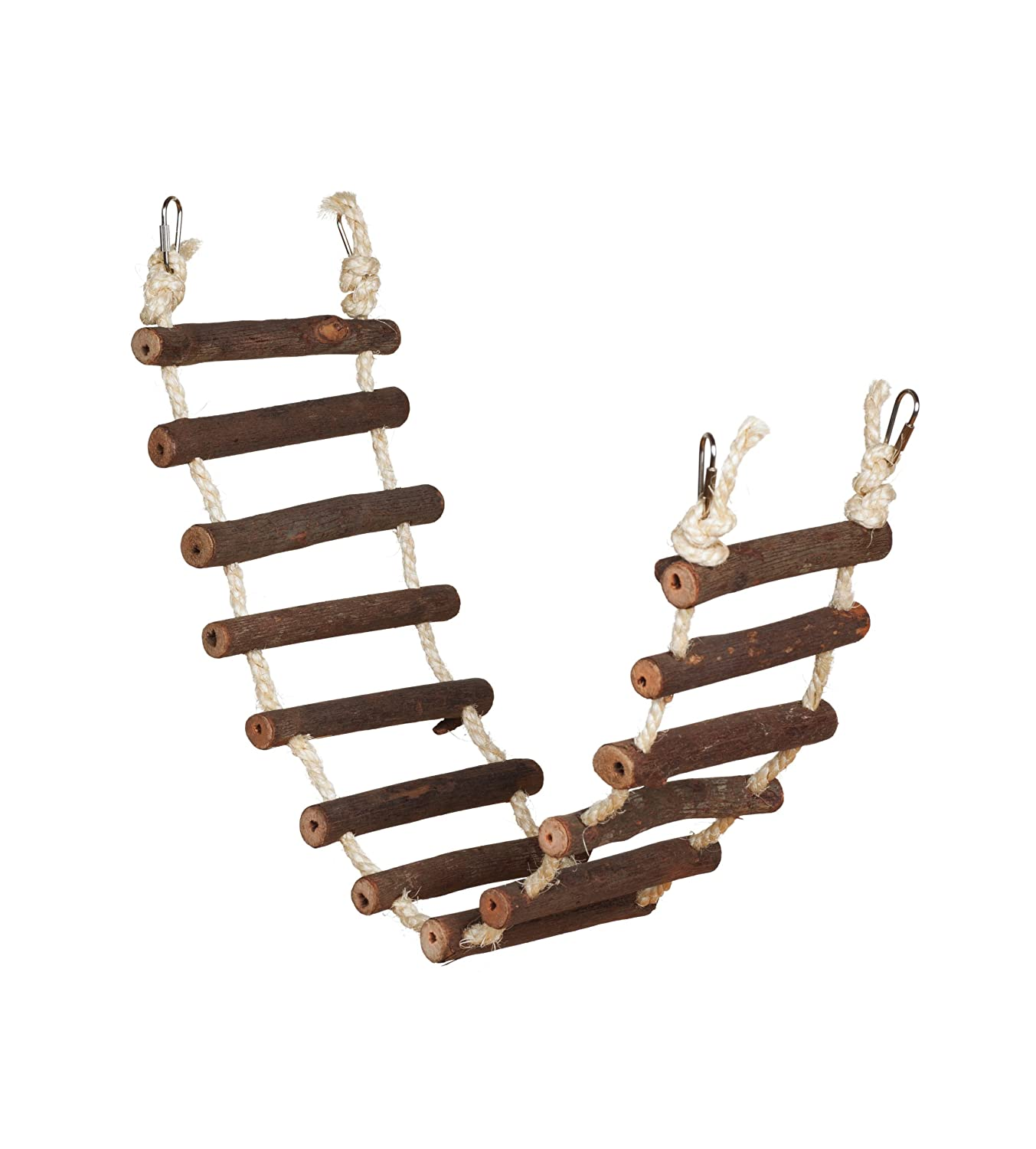 Amazon.com : Prevue Hendryx 62807 Naturals Rope Ladder Bird Toy ... for Rope Ladder Ship  51ane