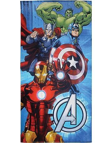 CTI 044252 – Toalla de Playa Avengers Metal algodón Azul 360 g/m² 150 x