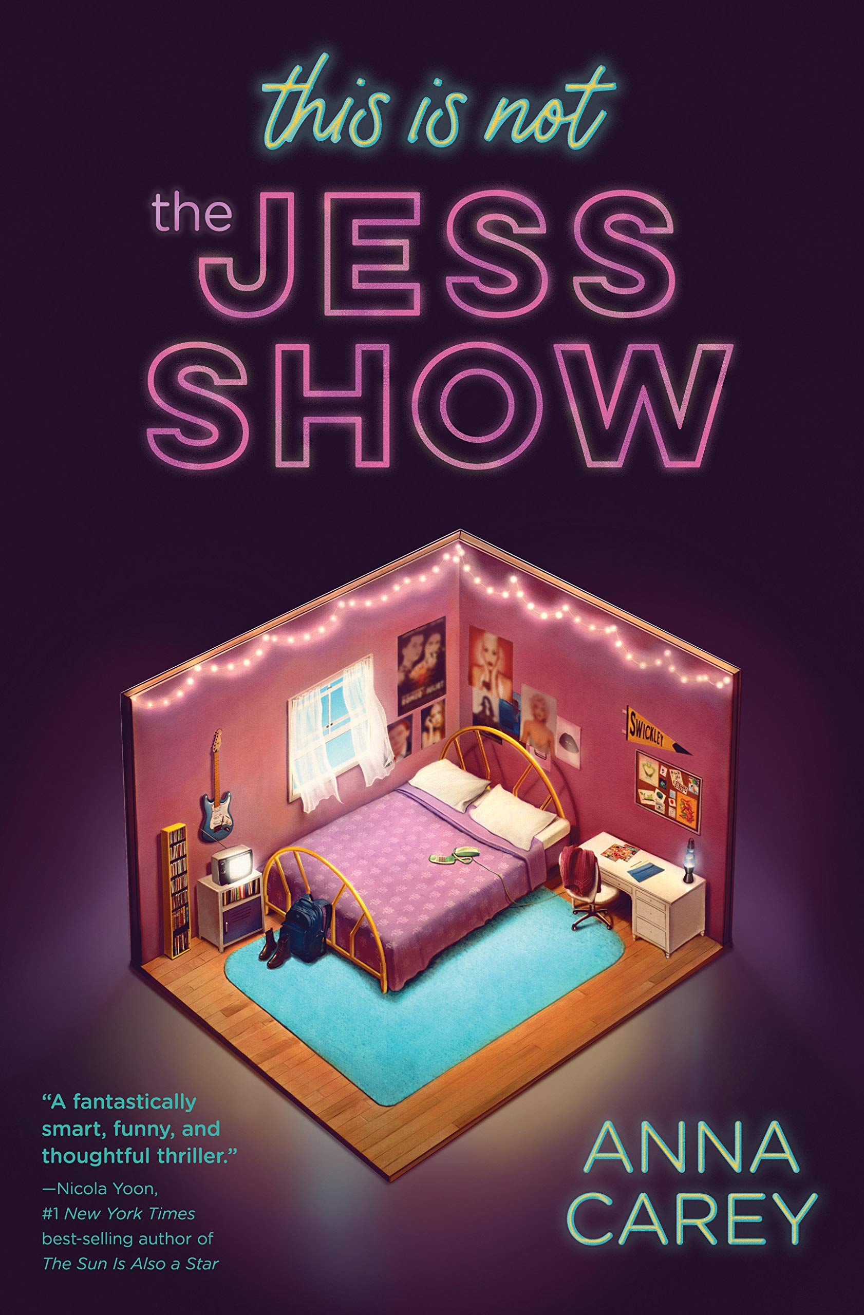 Amazon.com: This Is Not the Jess Show (9781683691976): Carey, Anna: Books