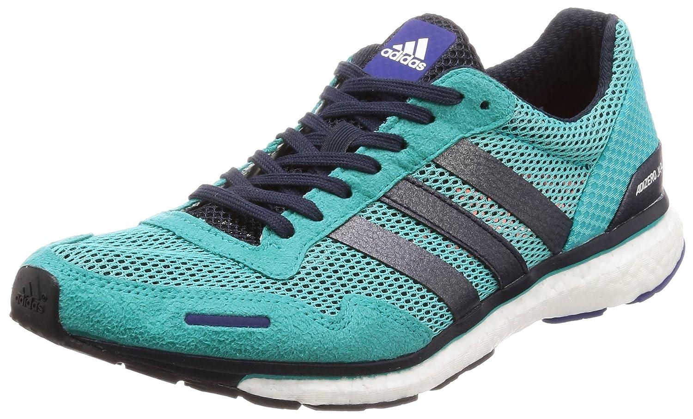 Bleu (Hi-res Aqua Legend Ink F17 Mystery Ink F17) adidas - Adizero Adios 3 M - Chaussures de cours - Homme 39 1 3 EU