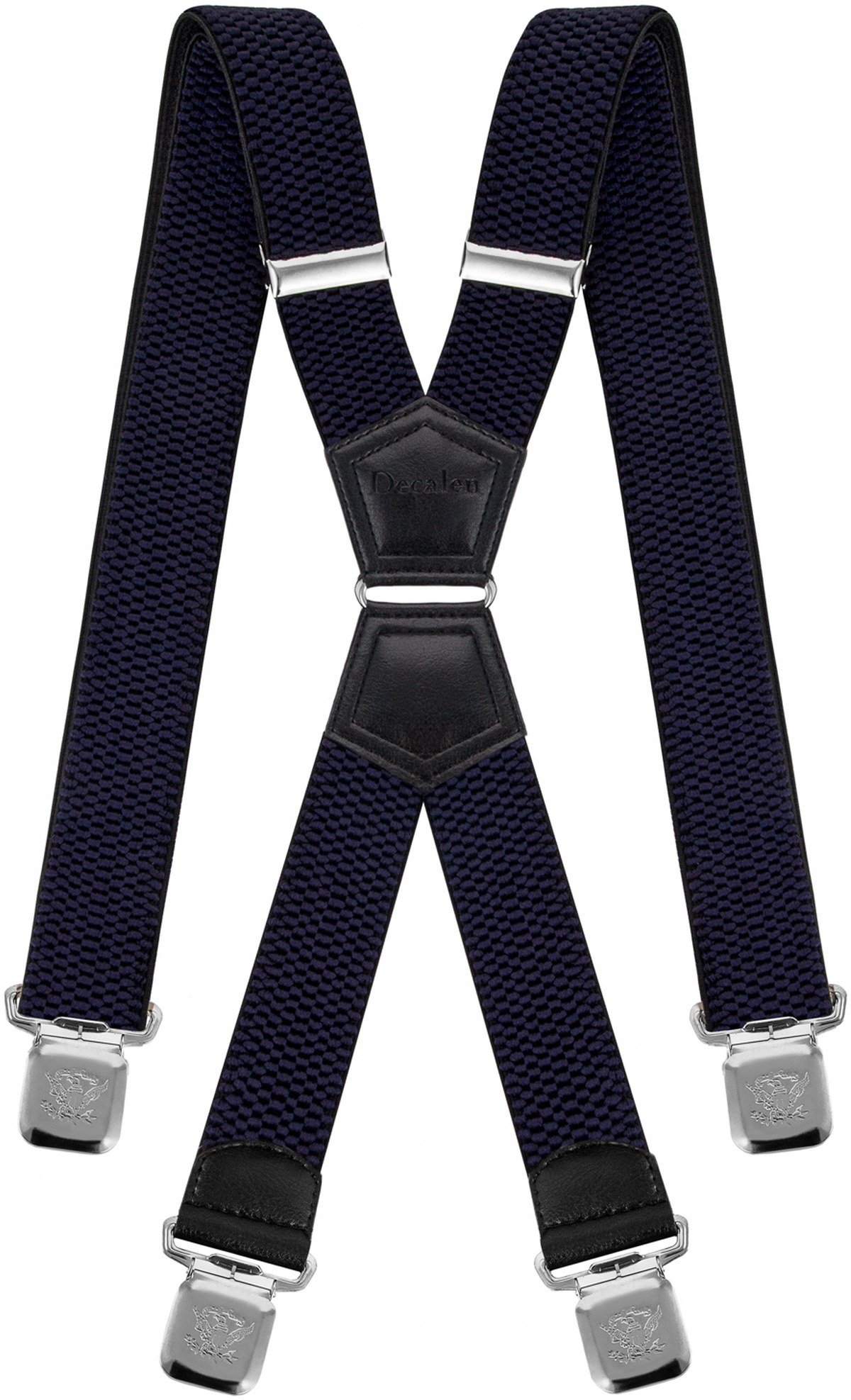 1cb2064552b0 Mens Suspenders X Style Very Strong Clips Adjustable One Size Fits All  Heavy Duty Braces product