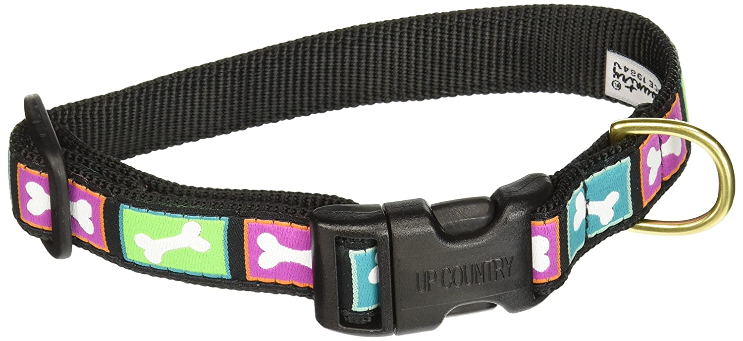 Up Country- Christmas Bones Style Dog Collar-Medium