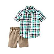 Carter's Baby Boys' 2 Piece Little Shorts Set 24 Months
