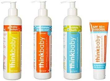 Thinkbaby Baby Body Care Set Kan Herbs - Traditionals, Bright Eye Rehmannia 1 oz