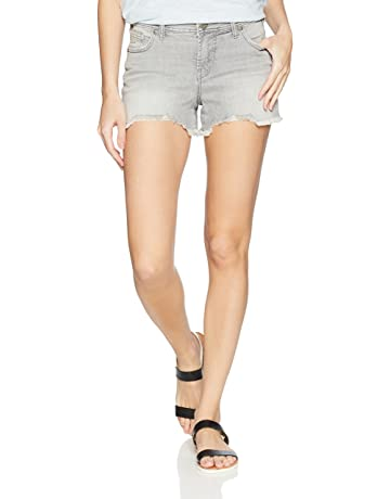 31f2bae287 Silver Jeans Co. Women's Elyse Relaxed Fit Mid Rise Short