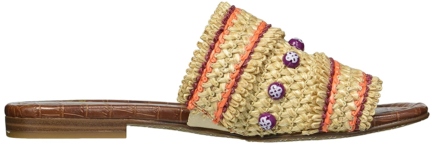 Sam Edelman B076937V8N Women's Brandon Slide Sandal B076937V8N Edelman 5 B(M) US|Almond/Sedona Orange 92ec51