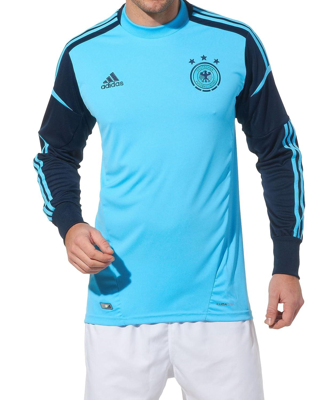 Adidas DFB Deutschland EM Torwarttrikot 2012 X21253 2013 BLAU X21253 2012 Grösse  L e1b6db