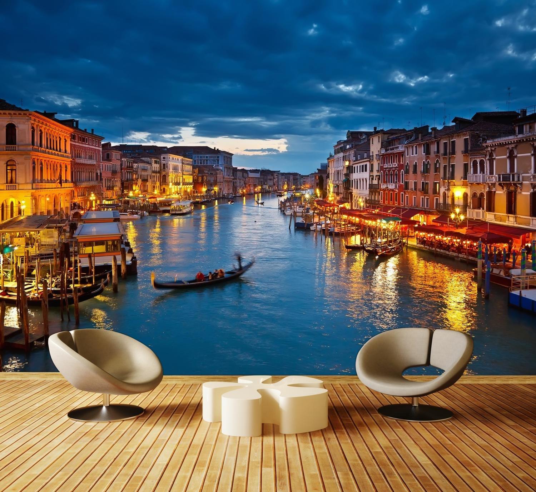 Wandmotiv24 Fototapete Canale Grande Venedig M0252 XXL 400 400 400 x 280 cm - 8 Teile Wandbild - Motivtapete B01GTSN4TK Wandtattoos & Wandbilder 91a05b