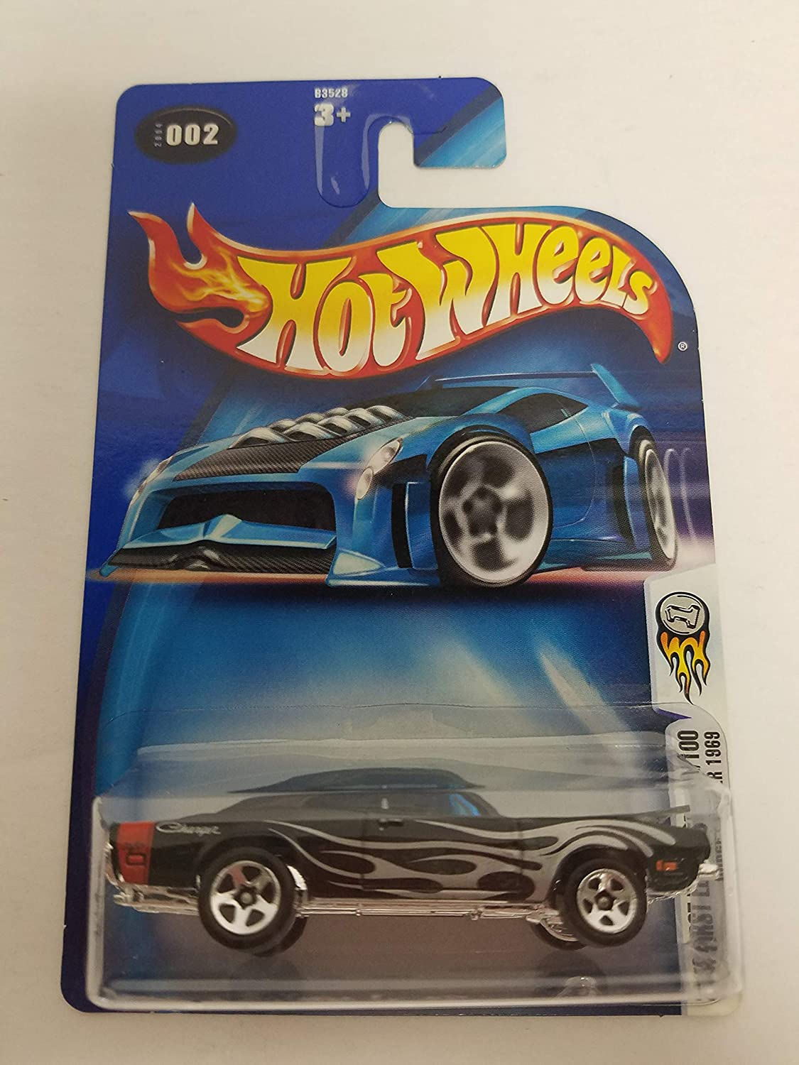 002 1969 Dodge Charger 2004 First Editions 2//100 Hot Wheels Diecast Car No