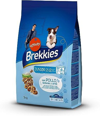 Oferta amazon: Brekkies Pienso para Perros Junior con Pollo - 3 kg