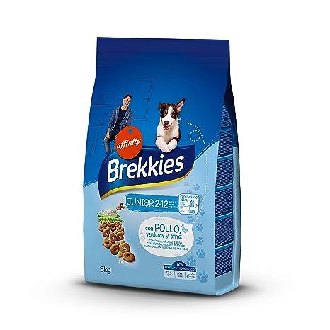 Brekkies Pienso para Perros Junior con Pollo - 3 kg: Amazon.es ...