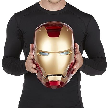 The Avengers Marvel Legends Iron Man Casco electrónico