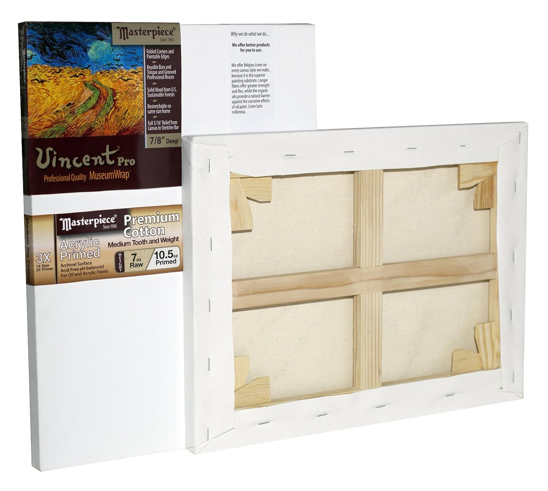 3X Cotton 10.5oz Masterpiece Artist Canvas 41058 Vincent PRO 7//8 Deep 24 x 40 Monterey Most Popular