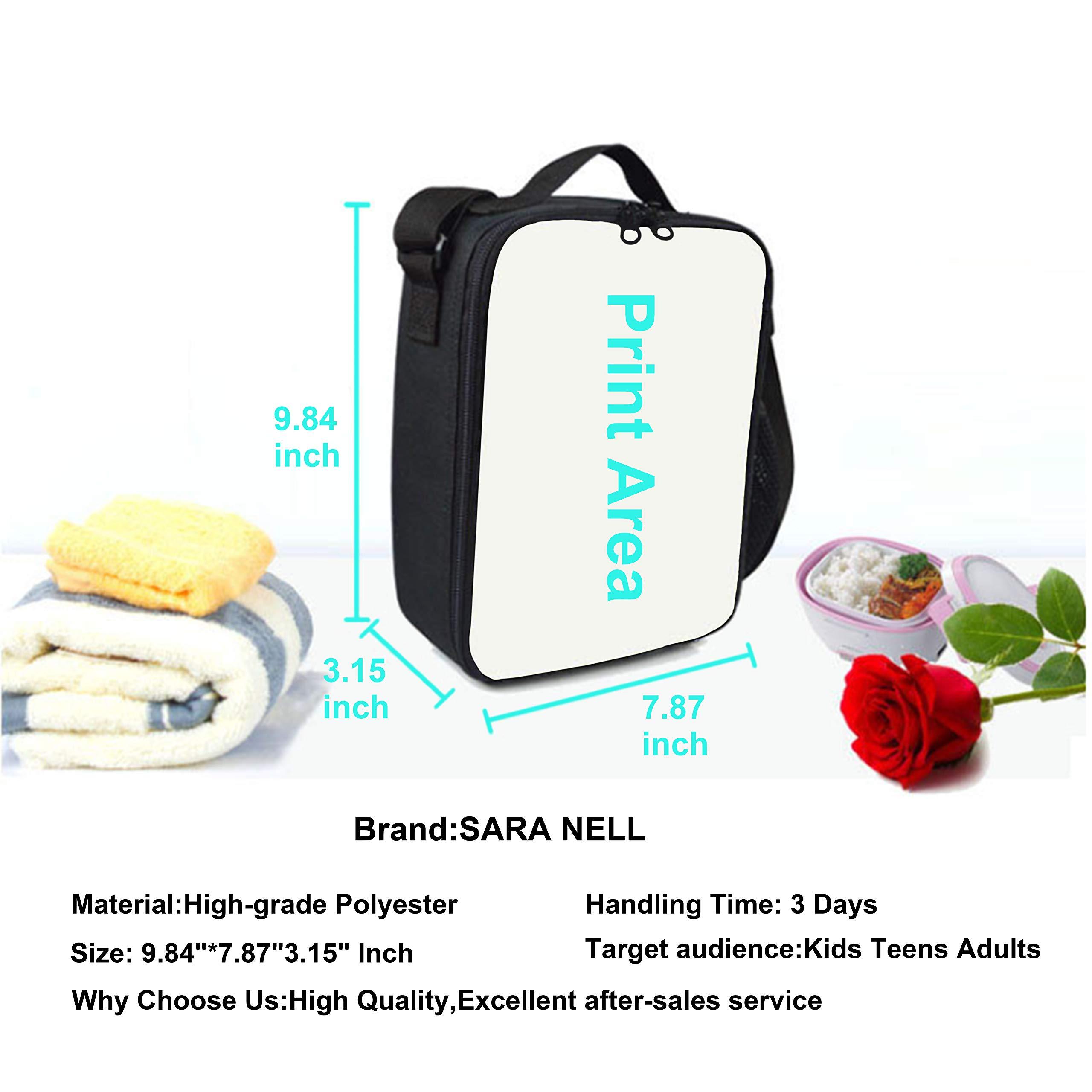 SARA NELL Messenger Bag,painted Floral,Unisex Shoulder Backpack Cross-body Sling Bag