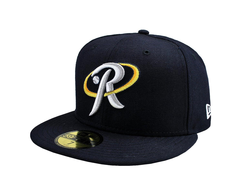 Amazon.com  New Era 59fifty Rieleros De Aguascalientes MLB Baseaball Hat  Mexican League Navy Blue Cap (7 3 4)  Clothing 6b939742835