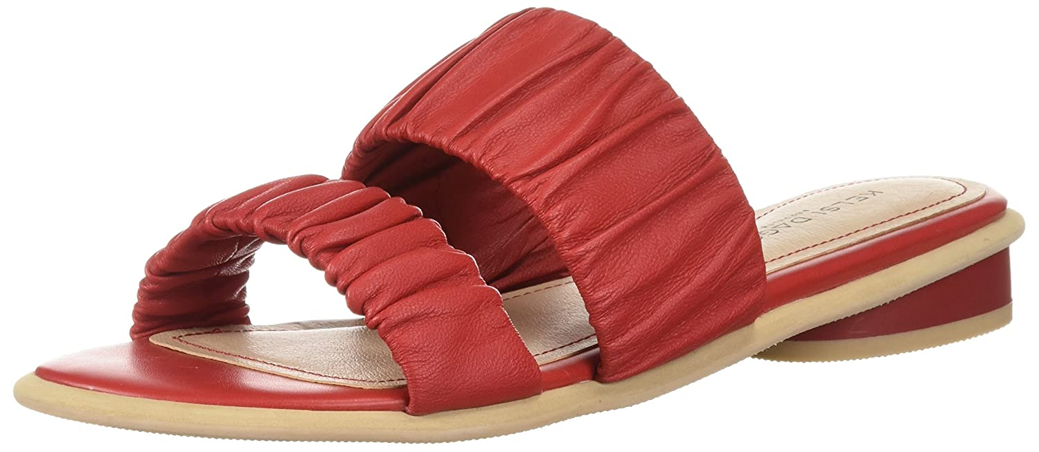 Kelsi Dagger Brooklyn Women's Surf Flat Sandal B074XQWC4B 8 B(M) US|Red