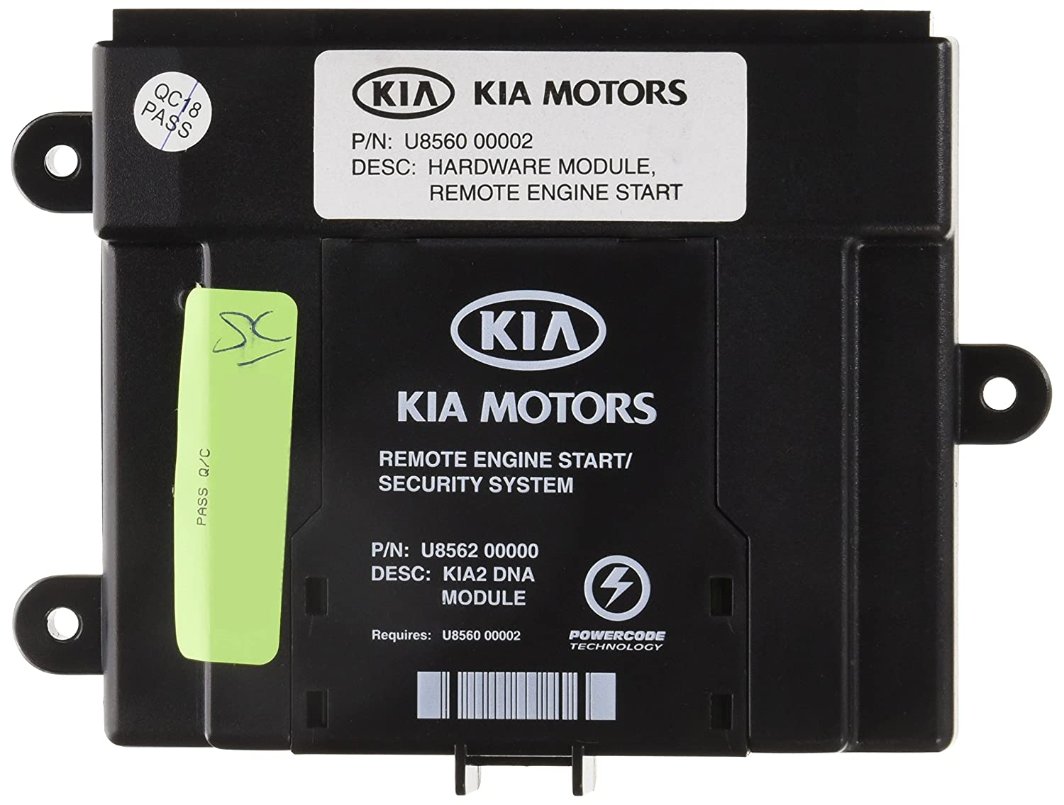 Genuine Kia Accessories U8560 1m000 Remote Key Start For 2000s Wiring Diagrams Forte Automotive