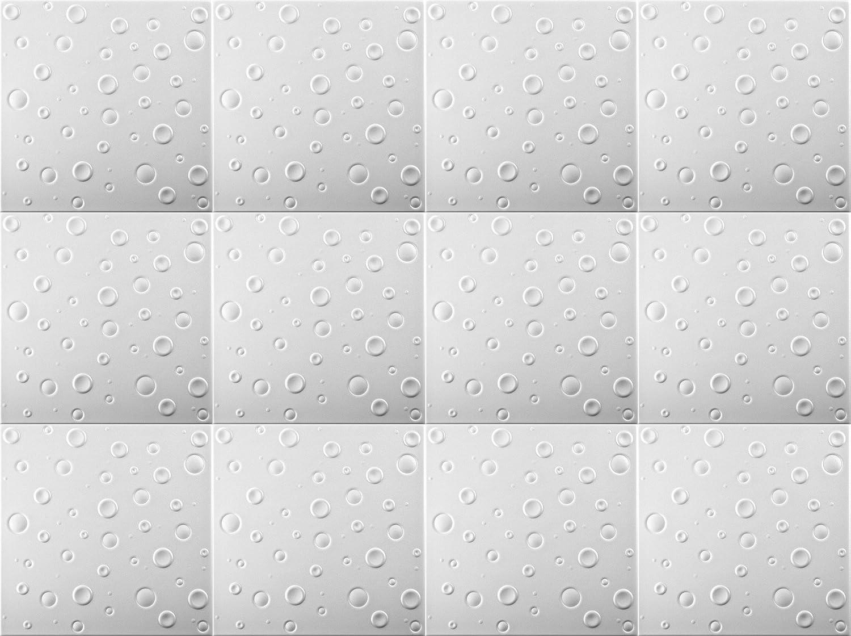 28 sqm White Pack 112 pcs Polystyrene Foam Ceiling Tiles Panels 0829
