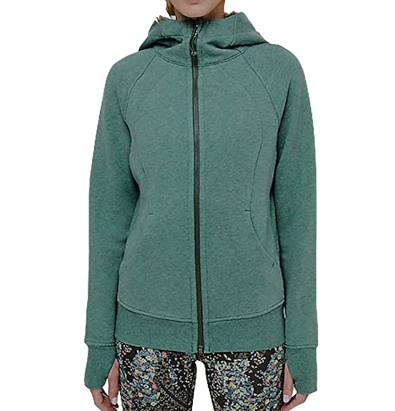 2019 clearance sale wholesale outlet premium selection Lululemon Scuba Hoodie IV - HEAL (Heathered Green Smoke) at ...