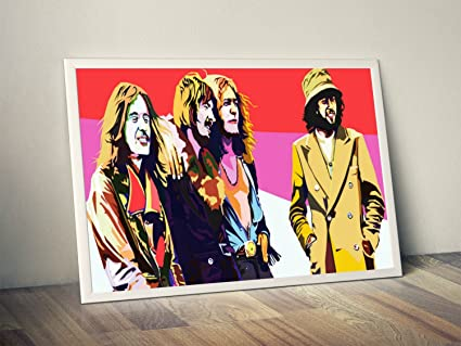 Amazon.com: Led Zeppelin Limited Poster Artwork - Professional Wall ...