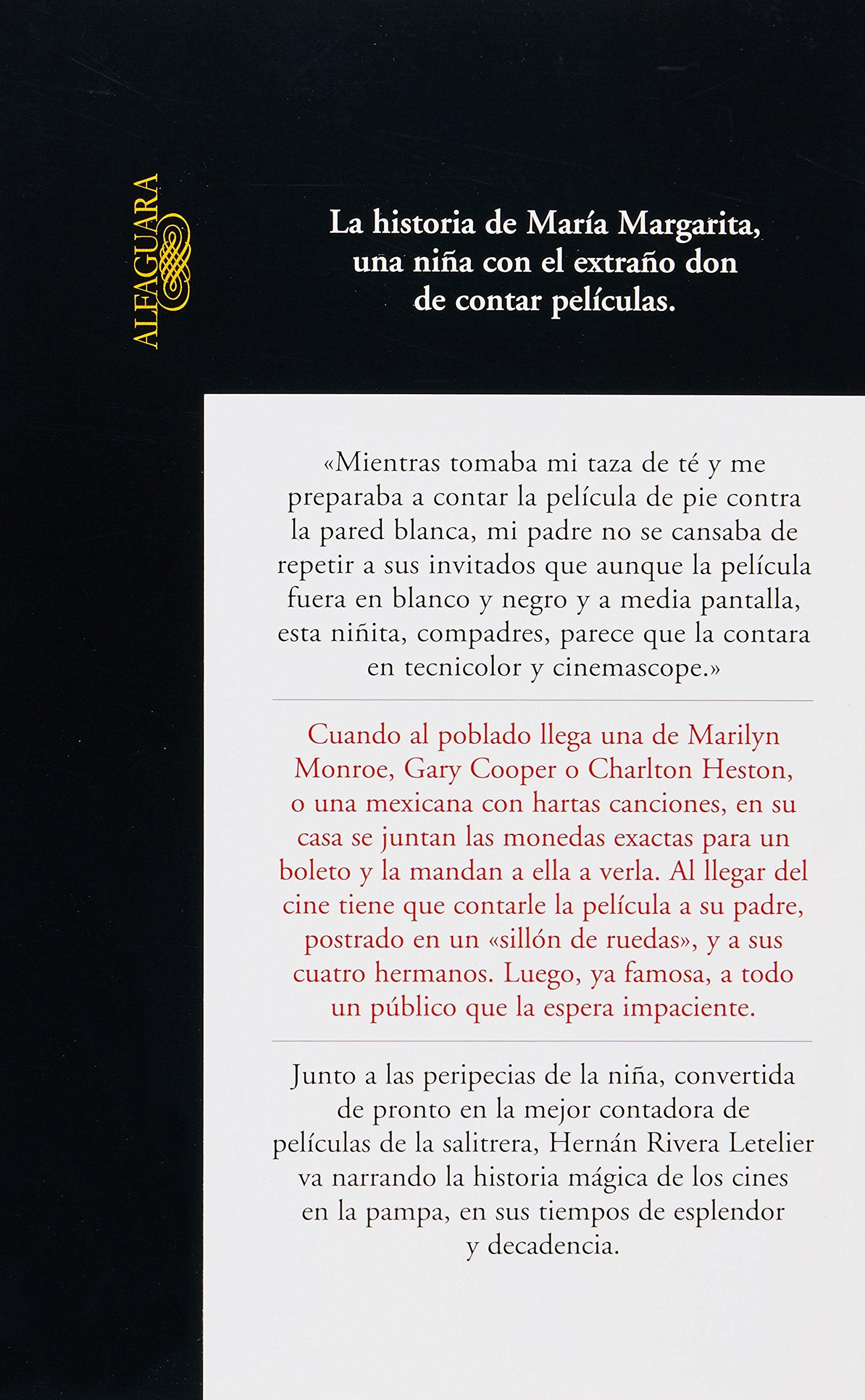 La Contadora de Peliculas (Alfaguara): Amazon.es: Hernan ...